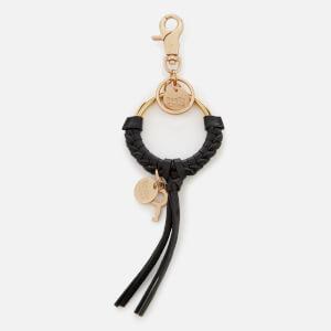See By Chloé Women's Tassel Hoop Keyring - Black