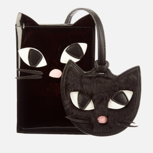 Lulu Guinness Women's Kooky Cat Travel Set - Black