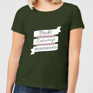 Brides Entourage Women's T-Shirt - Forest Green