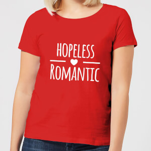 Hopeless Romantic Women's T-Shirt - Red