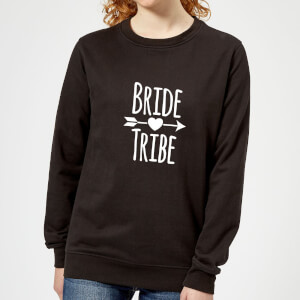 Bride Tribe Women's Sweatshirt - Black