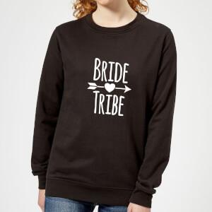 Bride Tribe Women's Sweatshirt - Black