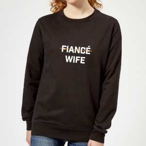 Fiance Wife Women's Sweatshirt - Black