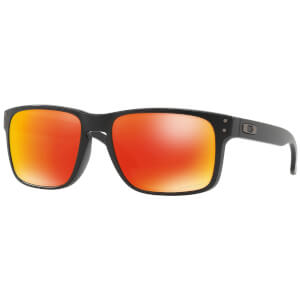 Oakley Holbrook Sunglasses - Matte Black/Prizm Ruby