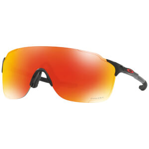 Oakley EVZero Stride Sunglasses - Polished Black/Ruby Prizm