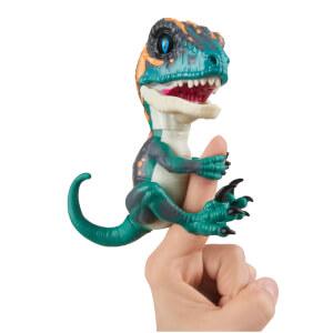 Untamed Velociraptor Dino - Fury (Blue) - By Fingerlings