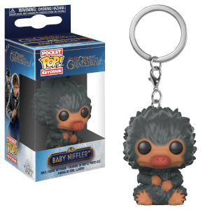 Llavero Pocket Pop! Escarbato Bebé Gris - Animales Fantásticos Y Dónde Encontrarlos