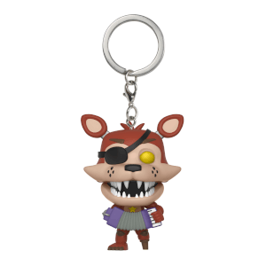 Porte-Clef Pocket Pop! Pizzeria Simulator Rockstar Foxy - Five Nights at Freddy's