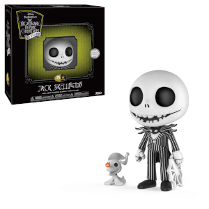 Figura Funko 5 Star: Disney Nightmare Before Christmas - Jack Skeletron