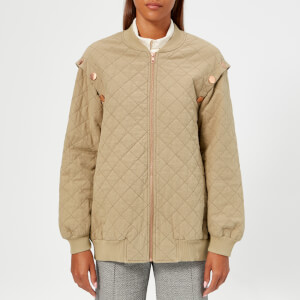 See By Chloé Women's Bomber Jacket - Twilight Green