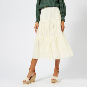 See By Chloé Women's Midi Skirt - Natural White