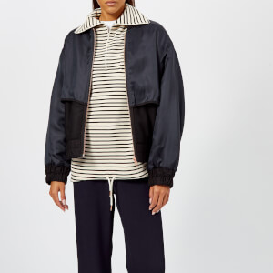 See By Chloé Women's Bomber Jacket - Black - Blue 1