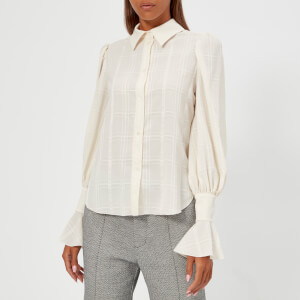See by Chloe Women's Long Sleeve Shirt - Natural White