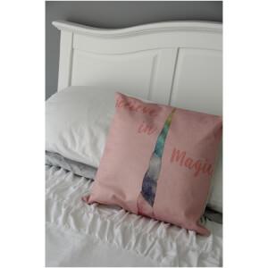Black Ginger Unicorn Cushion