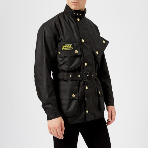 Barbour International Men's Original Wax Jacket - Black