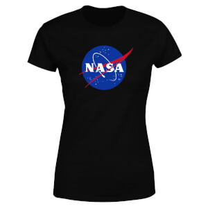 NASA Logo Insignia Women's T-Shirt - Black