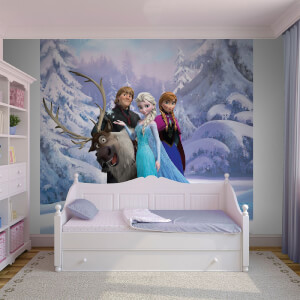 Disney Frozen Group Hug Wall Mural