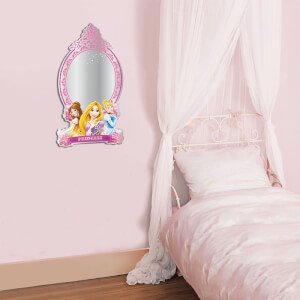 Disney Princess Large Mirrored Wall Sticker