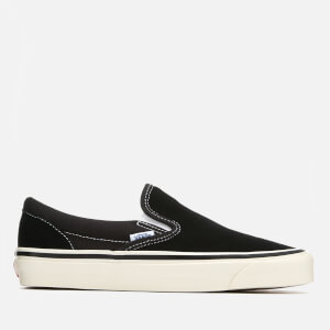 Vans Anaheim Classic 98 DX Slip-On Trainers - Suede/Black