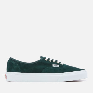 Vans Men's Authentic Suede Trainers - Darkest Spruce/True White