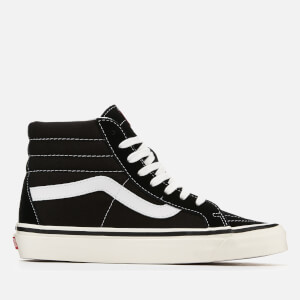 Vans Anaheim Sk8-Hi 38 Dx Hi-Top Trainers - Black/True White