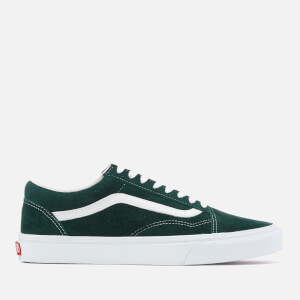 Vans Men's Old Skool Suede Trainers - Darkest Spruce/True White