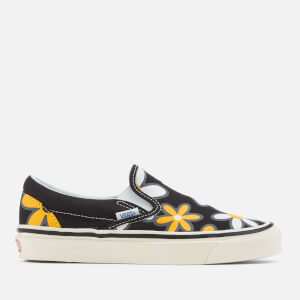 Vans Women's Anaheim Classic 98 DX Slip-On Trainers - Black/Flower Power