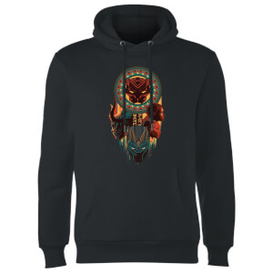 Sweat à Capuche Homme Totem - Black Panther - Noir