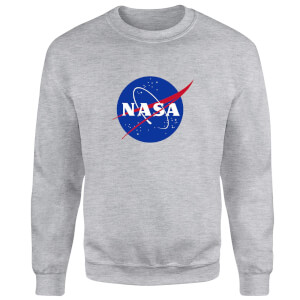 NASA Logo Insignia Sweatshirt - Grey