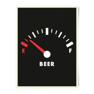 Beershield Beer Fuel Art Print