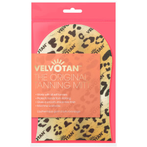 Velvotan Self Tan Applicator Original Body Mitt – Leopard
