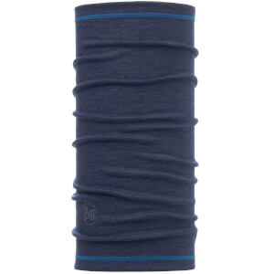 Buff Lightweight 3/4 Wool Tubular Headwear - Solid Denim