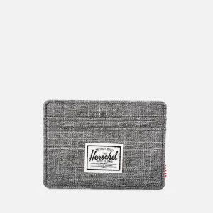 17d10112091a Herschel Supply Co. Men s Charlie Card Holder - Raven Crosshatch