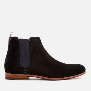 Ted Baker Men's Saldor Suede Chelsea Boots - Black