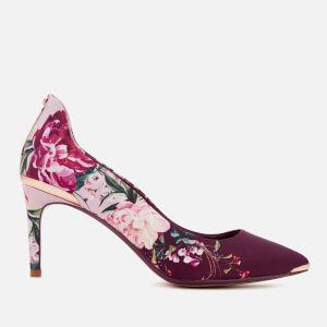 Ted Baker Women's Vyixnp 2 Court Shoes - Serenity Satin/Textile