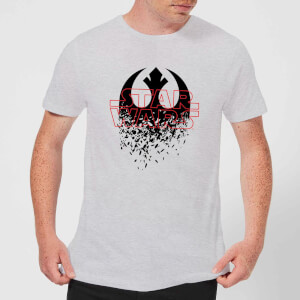 Star Wars Shattered Emblem T-Shirt - Grau
