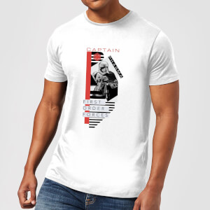 T-Shirt Homme Capitaine Phasma - Star Wars - Blanc