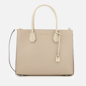 MICHAEL MICHAEL KORS Women's Mercer Large Conv Tote Bag - Truffle, Oat,Light Cream Gussut