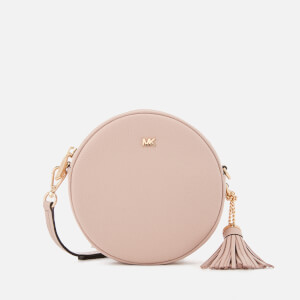 MICHAEL MICHAEL KORS Women's Small Grain Pebble Leather Canteen Bag - Soft Pink