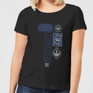 Star Wars The Resistance Schwarz Damen T-Shirt - Schwarz