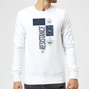 Sweat Homme La Résistance - Star Wars - Blanc