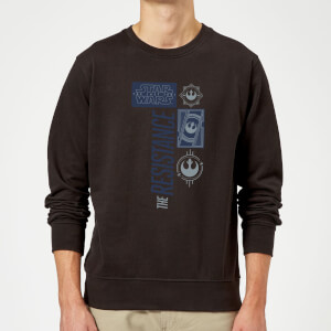 Sweat Homme La Résistance - Star Wars - Noir