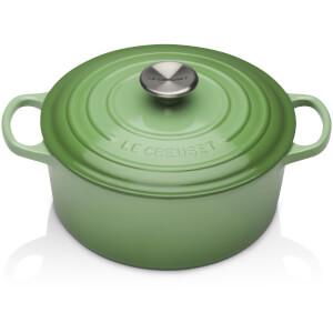 Le Creuset Signature Cast Iron Round Casserole Dish - 20cm - Rosemary
