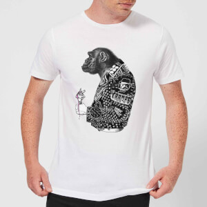 Rum Knuckles Punky Monkey T-Shirt - White