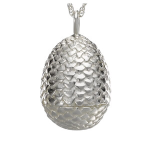 Collier Oeuf de Dragon - Game of Thrones