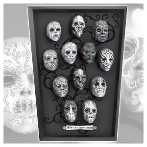 Harry Potter Death Eater 12 Mini Mask Collection