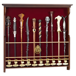 Harry Potter Wand Display Case - Holds up to 10 Wands