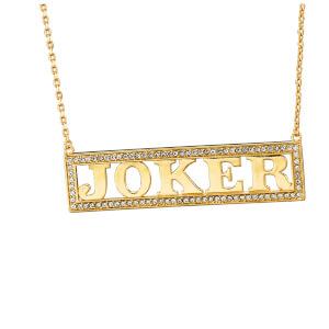 DC Comics Suicide Squad Harley Quinn's Joker Necklace