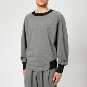 Vivienne Westwood Men's Double T Sweatshirt - Grey Melange
