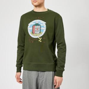Vivienne Westwood Men's Round Neck Sweatshirt - Green